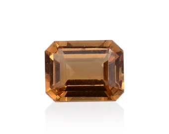 Alexite Autumn Synthetic Color Change Gemstone Octagon Cut 1A Quality 9x7mm TGW 2.20 cts.