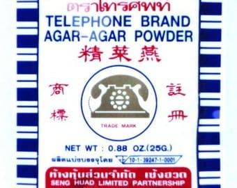 Telephone Brand Agar Agar Powder