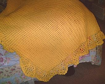 Cozy Crochet Afghan - Custom Made