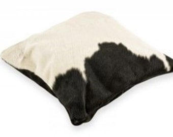 "Cowhide Pillow Handmade Amazing Design 16"" x 16"""