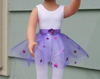 Dk. Purple Tulle Skirt