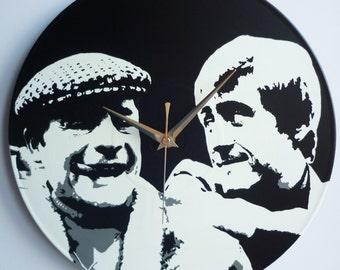 Only Fools and Horses - Del boy & Rodney -  12″ Vinyl Record Wall Clock