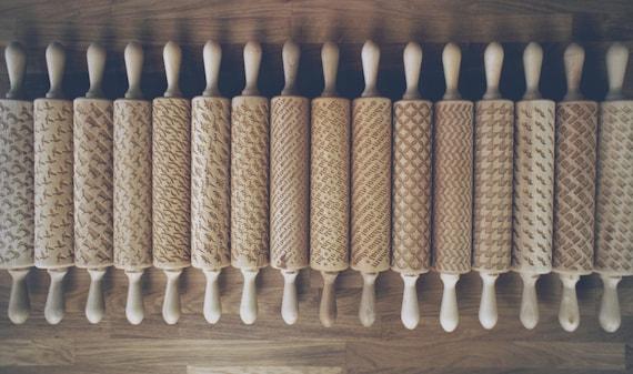 rolling pins rodillos reposteria grabados personalizados