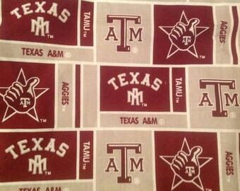 Texas Aggies Pack 'n Play sheet, Playard Sheet, Texas A & M Aggies