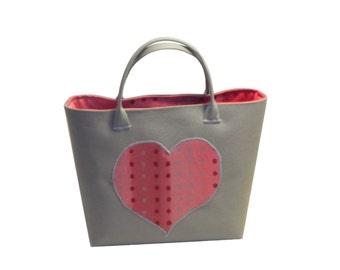 Little Girl Bag, Toddler Purse, Toddler Handbag, Toddler Bag, Kids bag, Pink purse, gift for little girl, polka dot, heart