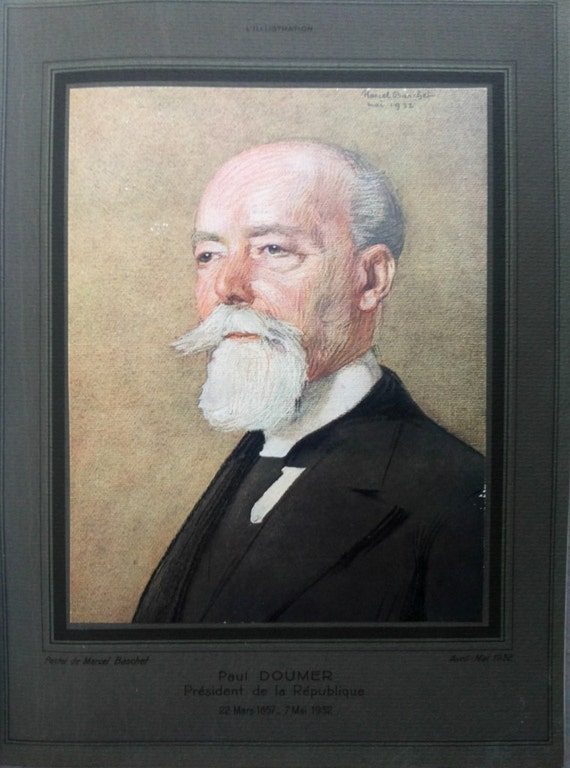 Portrait of Paul Doumer