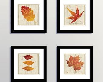 Downloadable Autumn Leaves Prints, Printable Maple Leaves, Autumn Leaves Art, Fall Leaves Prints, Fall Leaves Art, Leaf Prints, Autumn