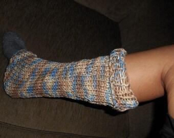 Multi-Color Cotton Leg Warmers