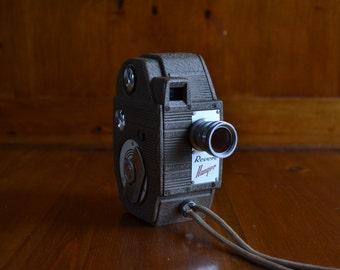 Vintage Revere 8mm Ranger Eight Model 81 Movie Camera