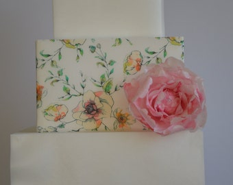 3 Floral Wafer Paper Sheets, Floral wafer paper, Frosting sheets for cakes, Edible Image, Cake Image,
