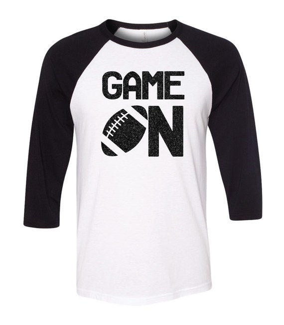 Game On Three Quarter Sleeve Baseball Tee With By