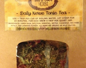 Daily Nerve Tonic Tea
