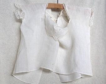 Antique Handkerchief Blouse