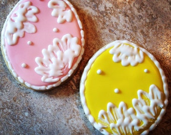 Easter Egg Sugar Cookies: 1 Dozen