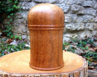 Hand Turned Mesquite Wood Domed Lidded Momento Box / Jewelry Box No. 1