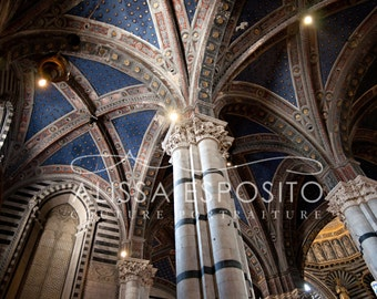 Sienna, Tuscany Italy, Cathedral, Church, 8x10, 11x14, 16x24, 20x30, Home Decor, Photography, Fine Art Print