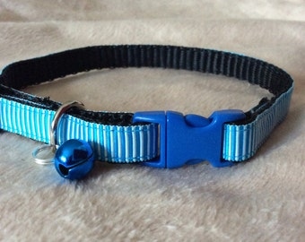Stripes & Pipes Cat Collar
