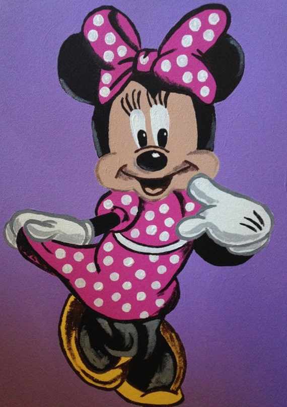minnie mouse wall art