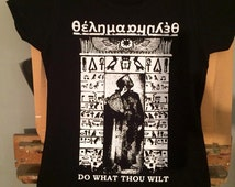 THELEMA-ALEISTER CROWLEY T-Shirt