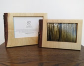 Sustainable Silver Maple 4x6 or 5x7 solid wood Frame