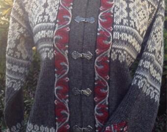 Norwegian wool sweater by Nordstrikk-size S