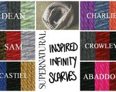 Supernatural Inspired Infinity Scarves
