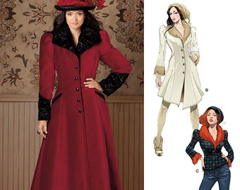 Simplicity Sewing Pattern 1732 Misses' Coat Costume