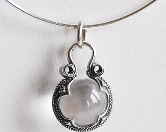 Cristal ball from Gotland on chain
