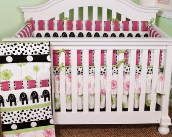 Cotton Tale Designs Hottsie Dottsie 4pc Baby Bedding