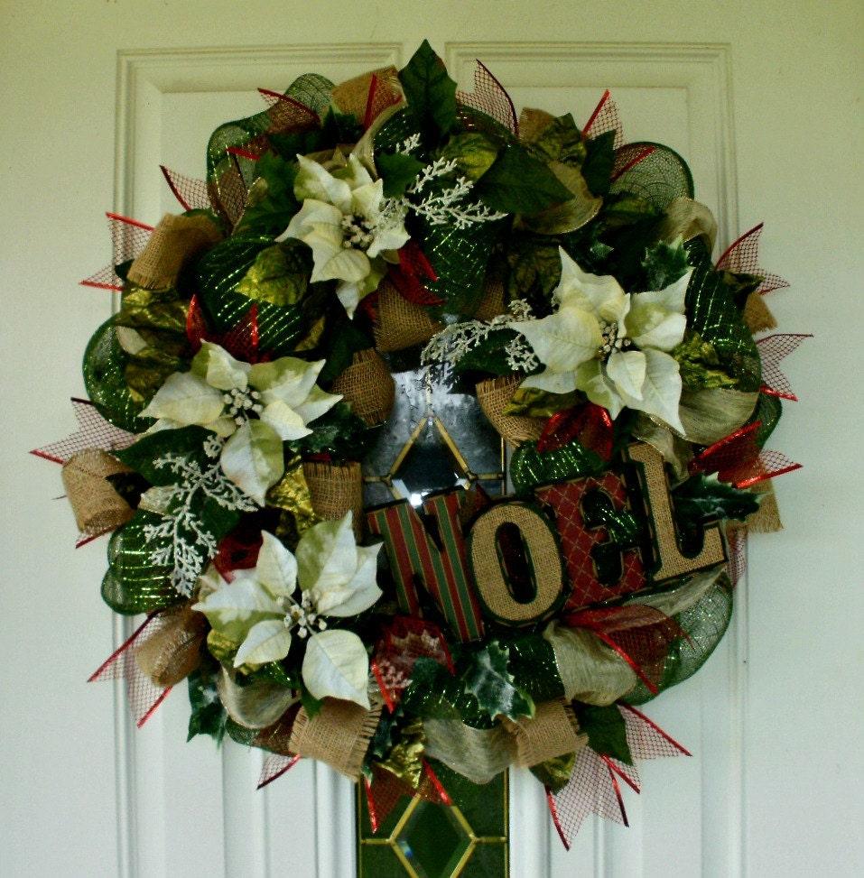 25 Off Was Sale Wreath Christmas Wreath Mesh