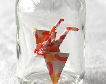 Bottled Confetti Crane captured crane Office Toy - w3r