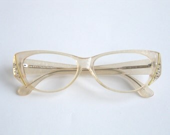 Eyeglass Frames With Pearls : Eyeglass frame pearl Etsy