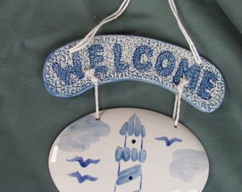 Lighthouse Welcome Tiles