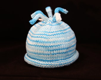 Newborn - Sprouts - knit baby hat - baby knit hat  - baby hat knit - newborn knit hat - knit hat newborn - newborn photo prop
