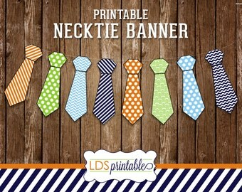 LDS Missionary Printable Necktie Banner