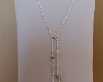 4 Hearts Clover Necklace White - Made in FRANCE