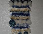 OOAK wall art, weaving, wall decor, textile art, wall hanging, weaving art, weaving, loom, yarn