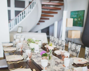 Scallop Edge Table Runners