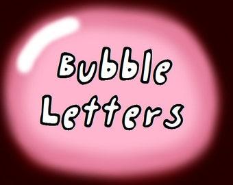 BubbleLetters Font