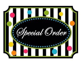 Custom Order - Wholesale - Bulk Order
