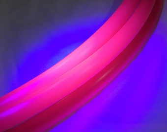 "PolyPro Hoop- Hot Pink UV (5/8"")"