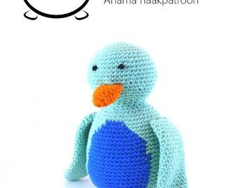Crochet pattern penguin (English and Dutch pdf)