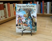 Rip Van Winkle Retold by John Patience / Virtually Unopened / Near-Fine Condition / Vintage Childrens Book / Old Childrens Book