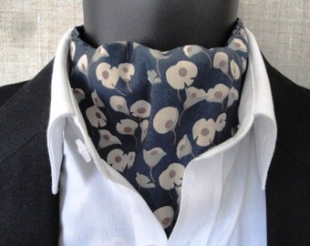 Reversible Cravat, two looks for the price of one, made in 100% cotton