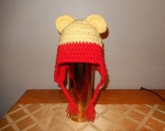 Winnie the Pooh Ear Flap Hat