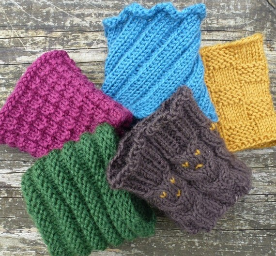 Double Knitting In The Round : Knitting pattern us for coffee cozies to fit takeaway