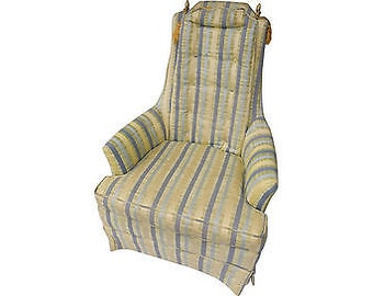 """Final SALE! Org 350.00 Vintage Modern Style Club Chair  35""""Lx28""""x40""""H, Seat17"""" Excellent Condition"""