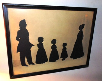Historic 1832 Silhouette Dr. Fancis LeMoyne & Family First Crematorium in USA