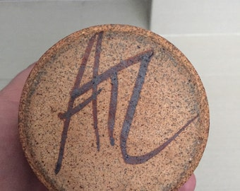 Signed Studio Pottery