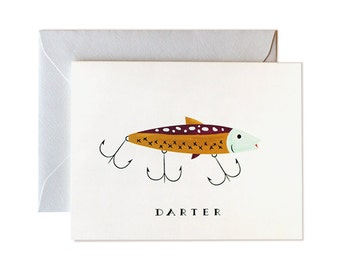 Fishing Card, Fathers Day Card, Card for Dad, Birthday Card Dad, Fishing, Husband, Grandpa, Greeting Card